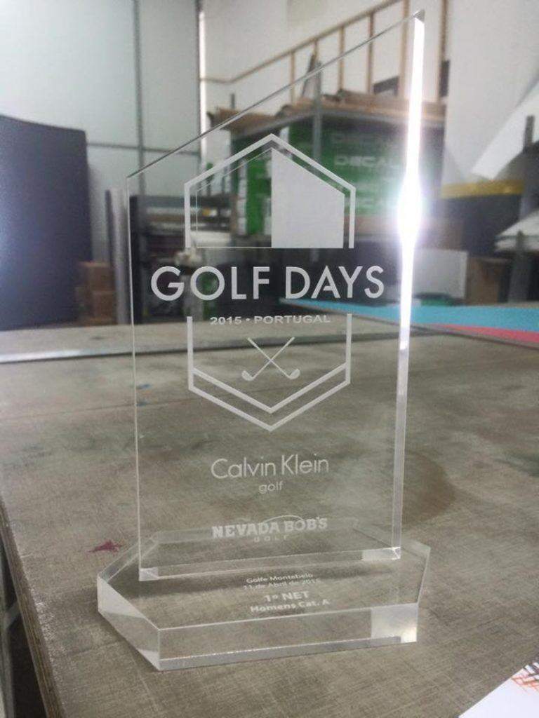 - Laser – Golf Days – Troféus – Nevada Bob's