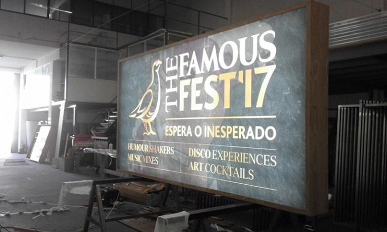 - Luminosos – The Famous Fest 17 – H2N