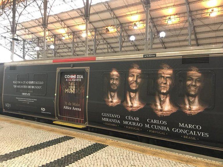 - Comboio Comedia La Carte