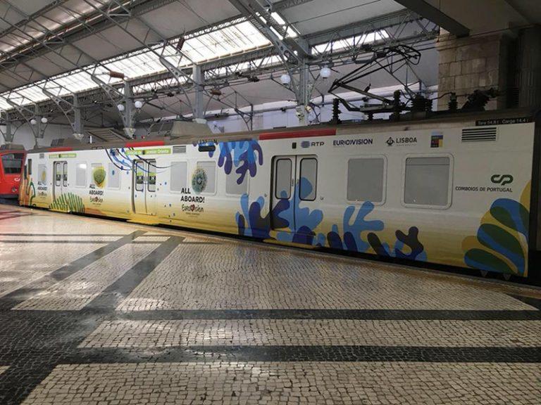 - Comboio Eurovision