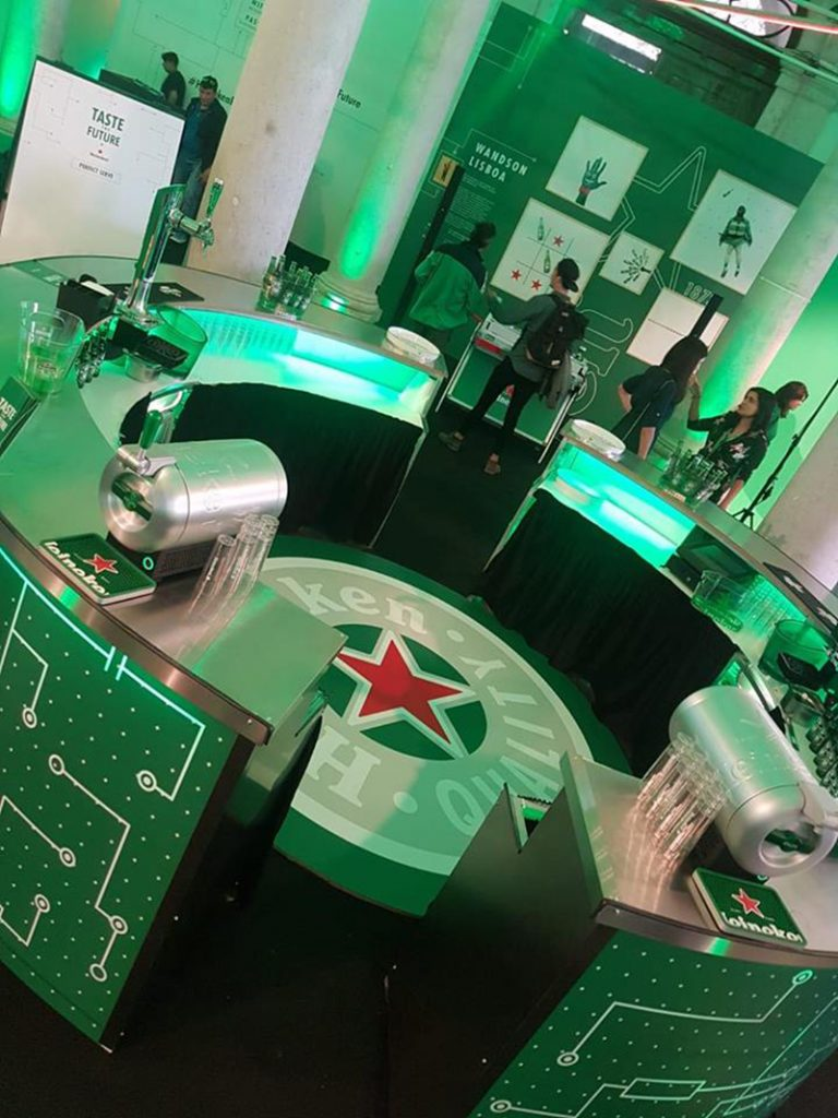 - Impressão Grande Formato – Museu Cerveja Heineken – H2N