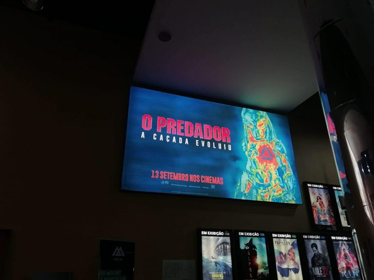 - Cinemas – Predador