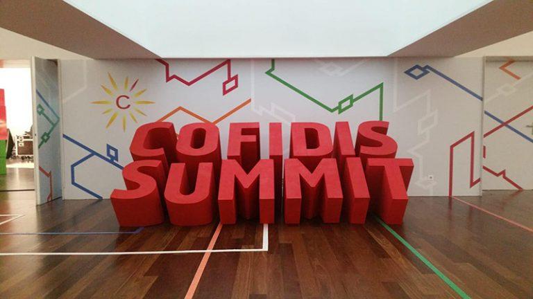 Projectos em Esferovite - Cofidis Summit