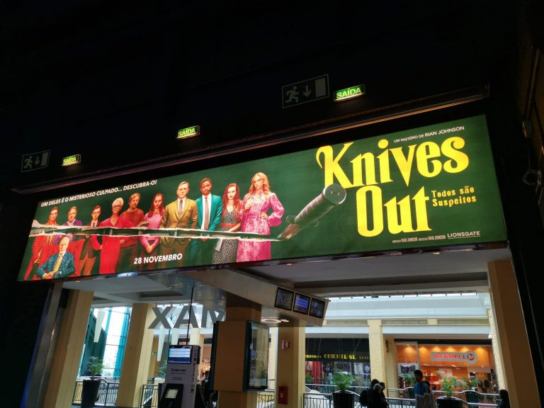 - Knives Out – Cinemas