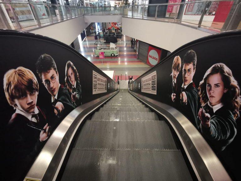 - Escadas rolantes Harry Potter