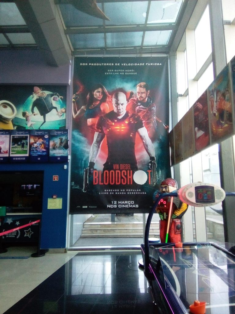 - BLOODSHOT – Cinemas