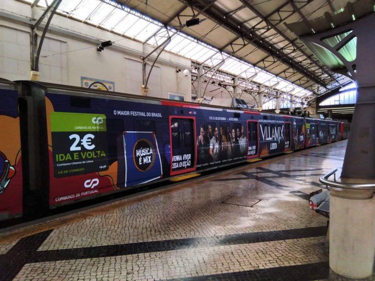 - Comboio Villamix