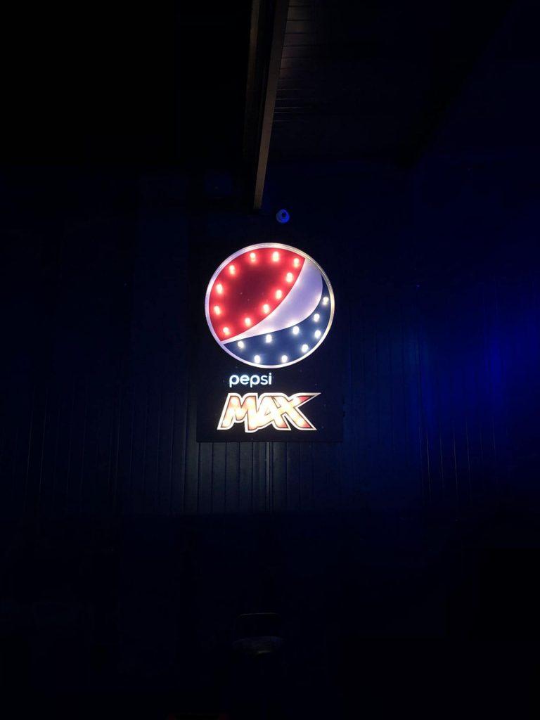 - Pepsi Max | Caixas de Luz